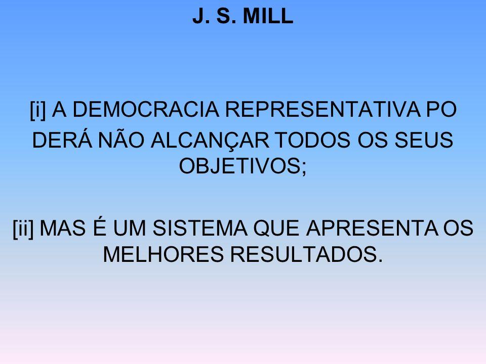 [i] A DEMOCRACIA REPRESENTATIVA PO
